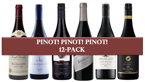 Pinot! Pinot! Pinot! Mixed 12 pack