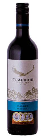 Bodegas Trapiche Vineyards Malbec 2012 Red Wine