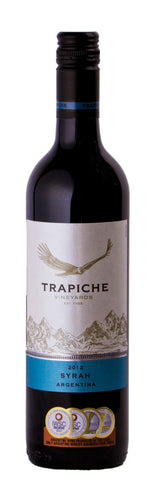 Bodegas Trapiche Vineyards Syrah Shiraz 2012 Red Wine