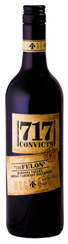 Westlake 717 Convicts The Felon Shiraz - Cabernet 2009