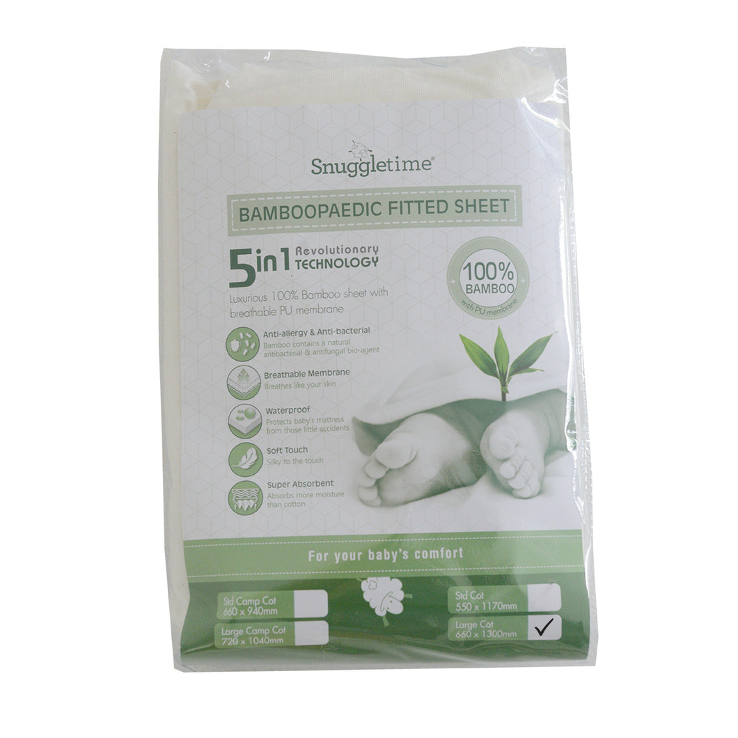Bamboopaedic HTX Sheet - Size: Large Cot
