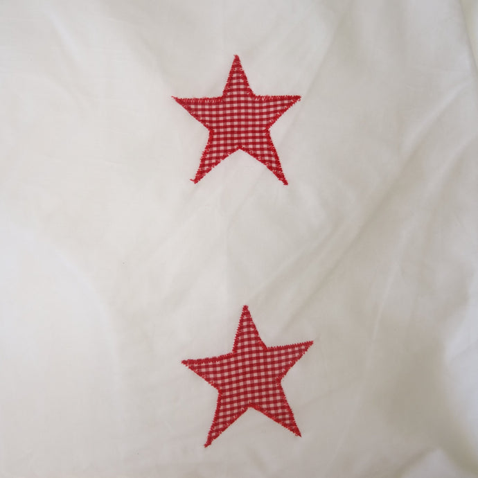 Fitted Sheet - Red Stars