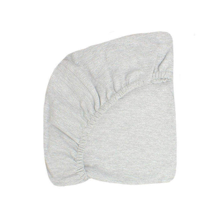 100% Cotton Fitted Sheet-Dove Grey