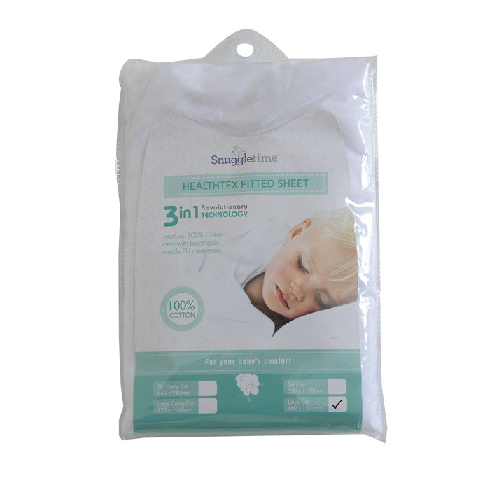 HEALTHTEX (HTX) SHEETS - 100% PURE COTTON WITH PU MEMBRANE