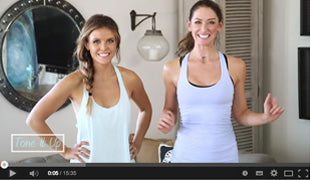 We share a new HIIT workout you can do in your living room