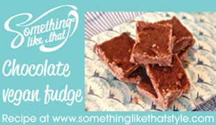 See recipe for this delicious healthy fudge