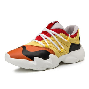 Basket Homme Fashion Street Hip Hop - Ref : 22IC32ZA5 - Yellow / 7.5