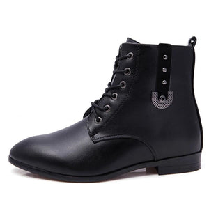 Bottines Hommes à lacets - Ref : 3257F8LJL - White / 6.5