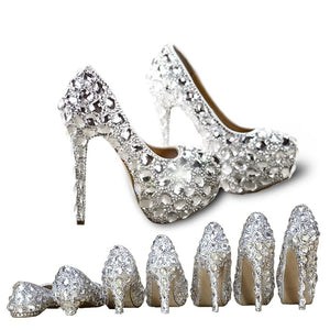 Chaussure Crystal Cendrillon - Ref : 44XNW9Y34