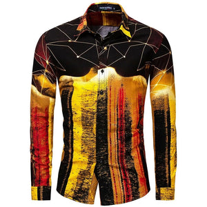 Chemise Homme Street Gold - Ref : 01M2A7P9I