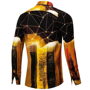 Chemise Homme Street Gold - Ref : 01M2A7P9I - 30 Multi-Color / M