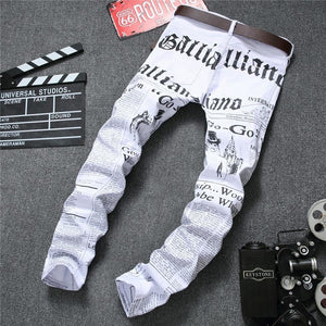 Jean Tendance News and letters - Ref : 1S8SJ745C - white / 28