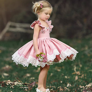 Robes Enfants - Ref : B0IS64E42 - Rose / 2T