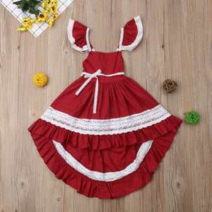 Robes Enfants - Ref : ZZ347U7A7 - Red / 2T
