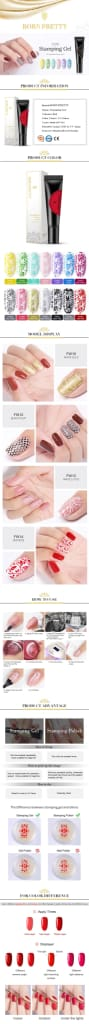 Vernis ongles Gel impression - Ref : QZ509FI11