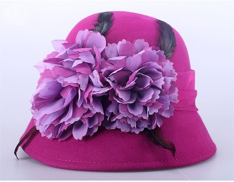 9_vintage hats for women