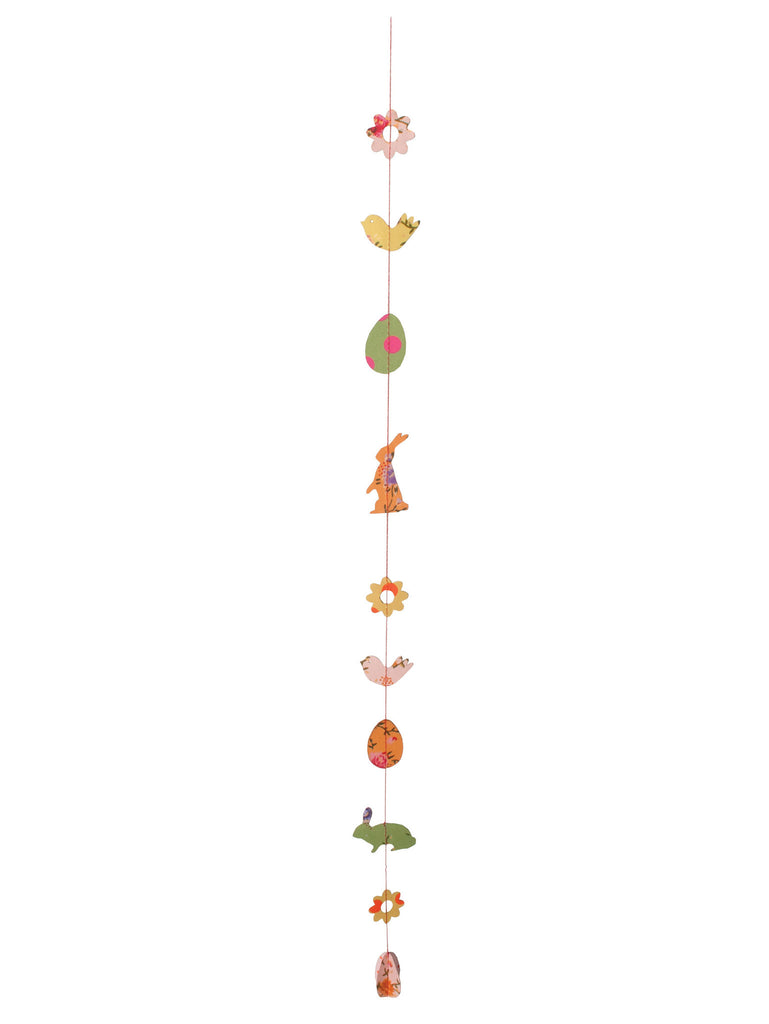 Maileg Easter Paper Ornaments on a String