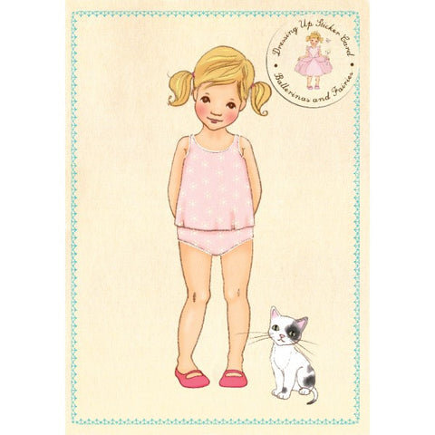 "Belle and Boo ""Ava"" Sticker Card"