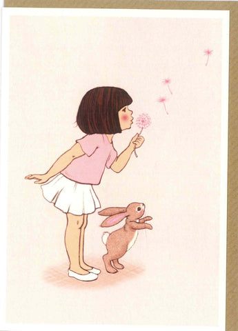 "Belle and Boo ""Dandelion"" Card"