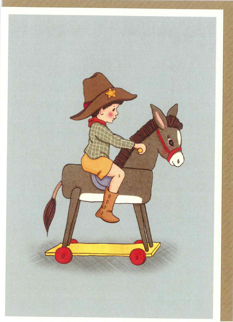 "Belle and Boo ""Donkey"" Card"