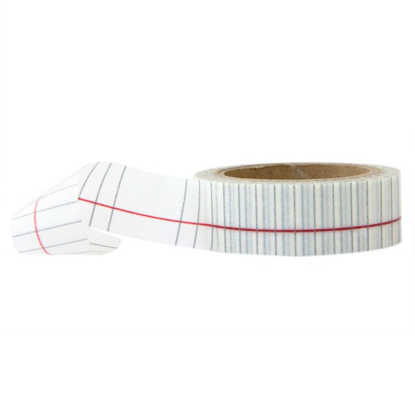 Washi Tape - Notebook Paper