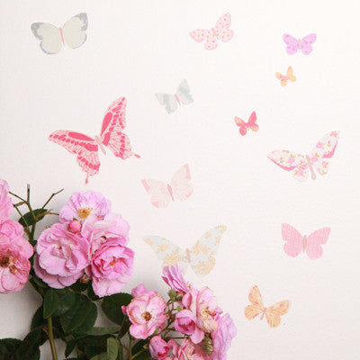 Mini Butterflies Fabric Decal