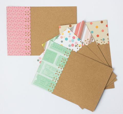 Handmade Note Cards - The Confetti Party