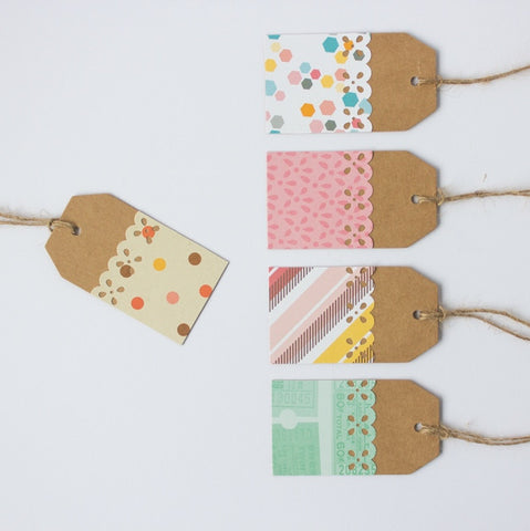 Handmade Gift Tags - The Confetti Party