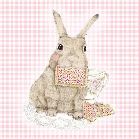 Bunny Tea Greeting Card