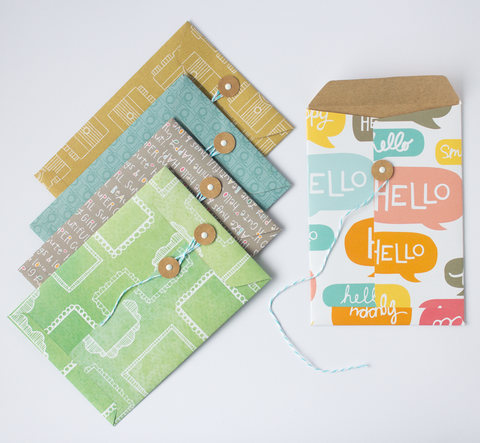 Handmade Envelopes - Oh Hello
