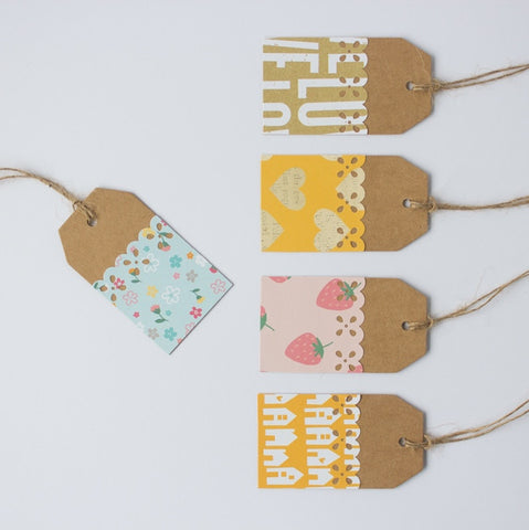 Handmade Gift Tags - Home Is Where The Heart Is