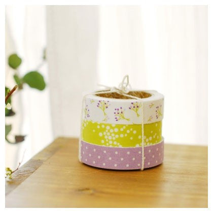 Fabric Tape (Set of 3) - Bouquet