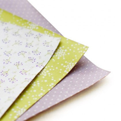 Fabric Sticker Sheets (Set of 3) - Bouquet