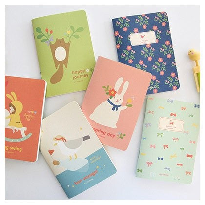 Lovely Illustration Teeny Tiny Notebook