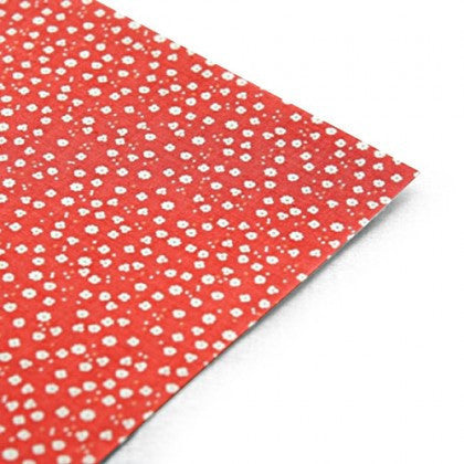 Strawberry Flower Fabric Sticker
