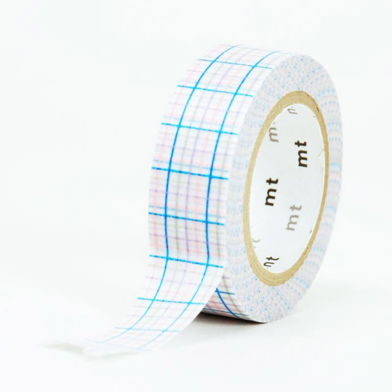 MT Masking Tape - Criss Cross Blue