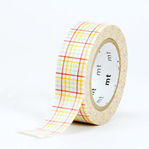 MT Masking Tape - Cross Cross Red