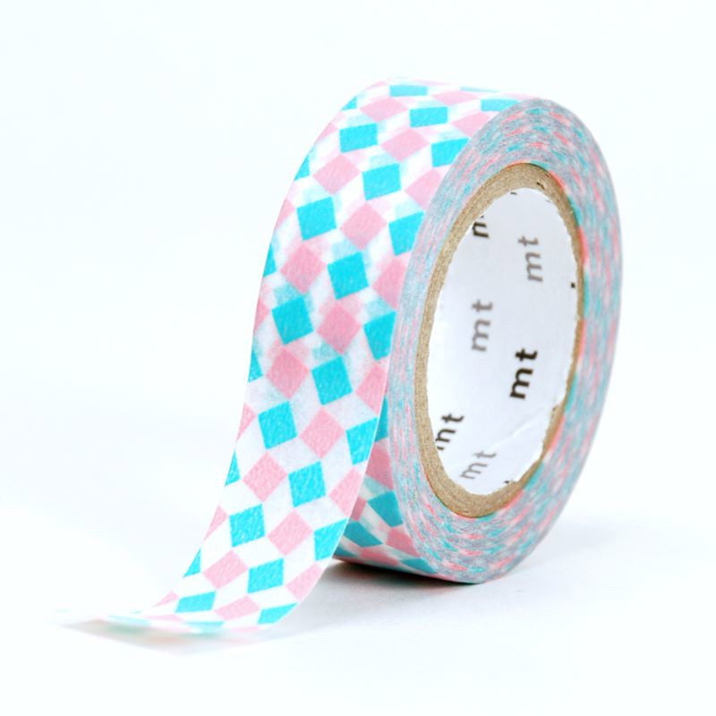 MT Masking Tape - Square Pink