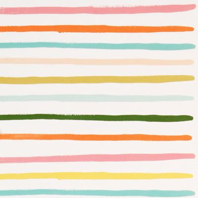 Happy Stripe Wrapping Paper