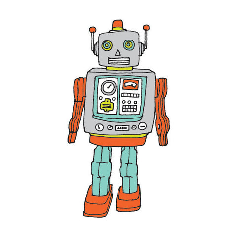 Tattly Tattoo - Robot