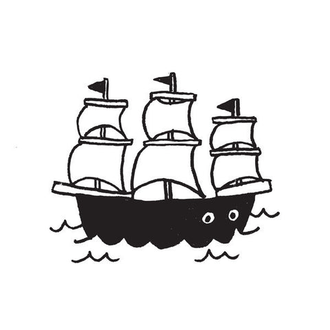 Tattly Tattoo - Ship