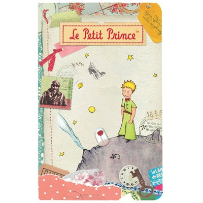 Le Petit Prince Collage Notebook - Small