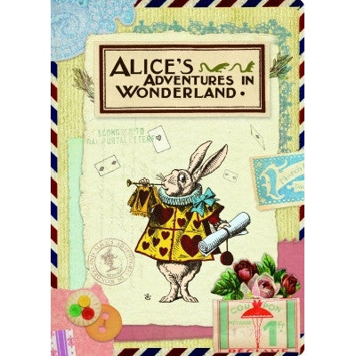 Alice in Wonderland Card - Collage 1