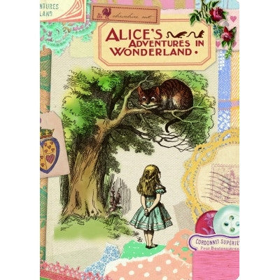 Alice in Wonderland Card - Collage 2