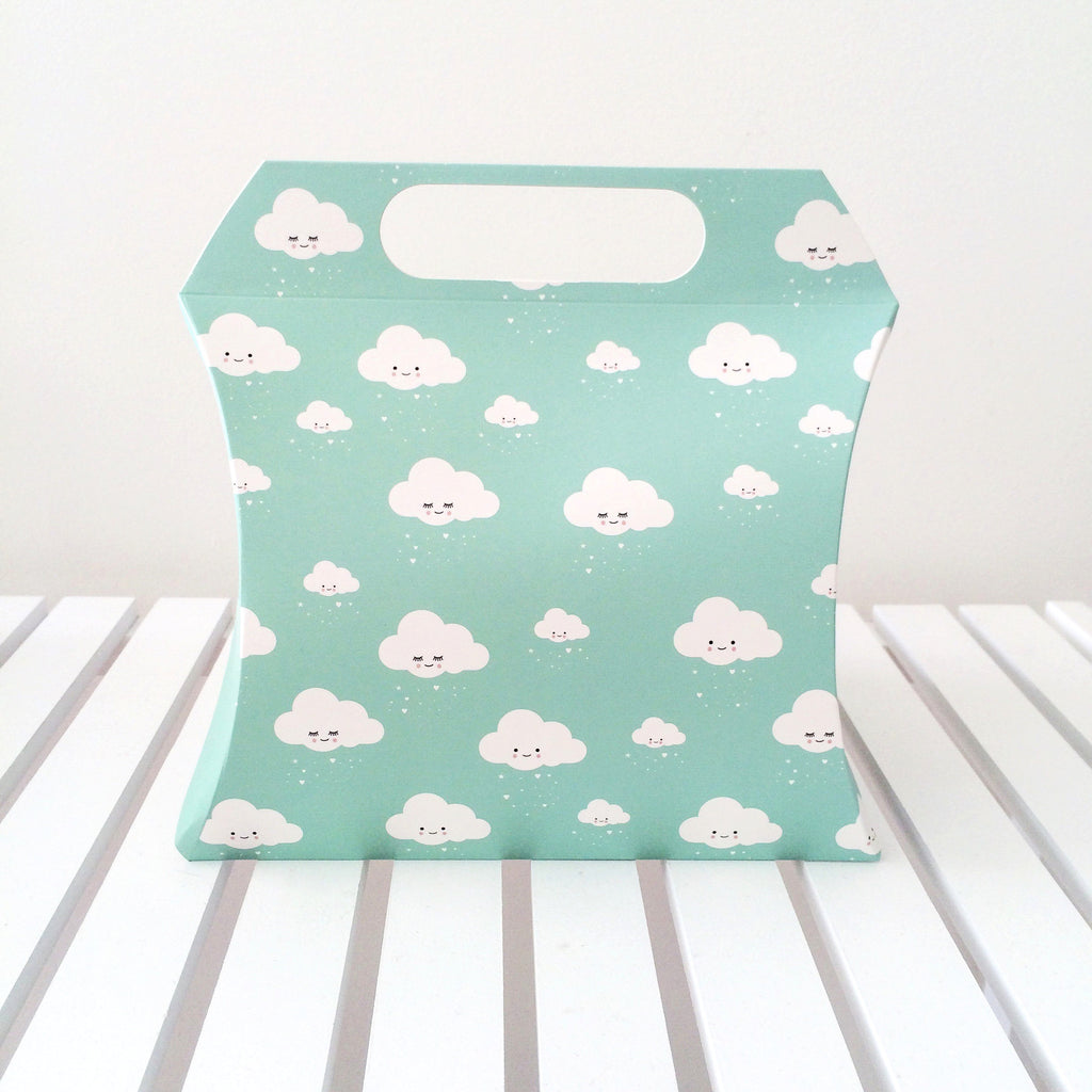 Eef Lillemor Pillow Box - Mint Clouds