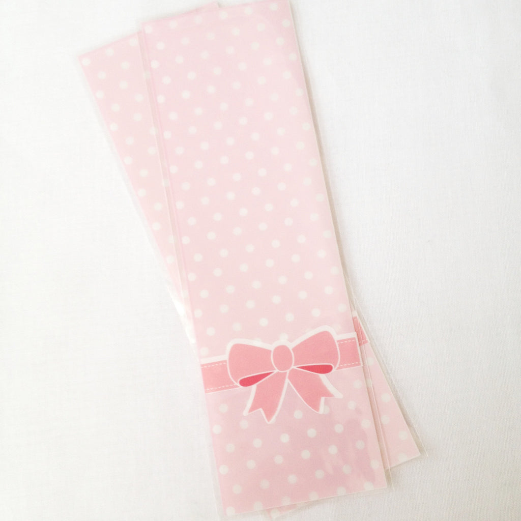 Pink Ribbon Translucent Gift Bag