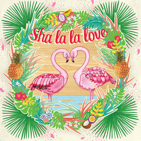 Sha La La Love Mini Card
