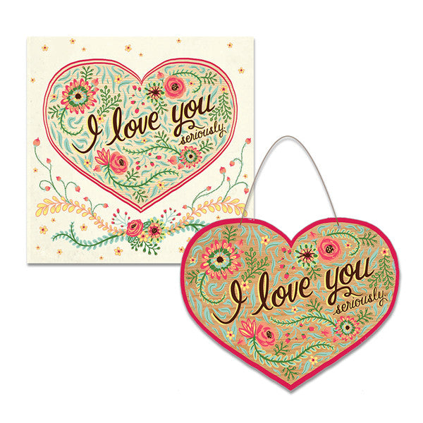 I Love You Keepsake Card