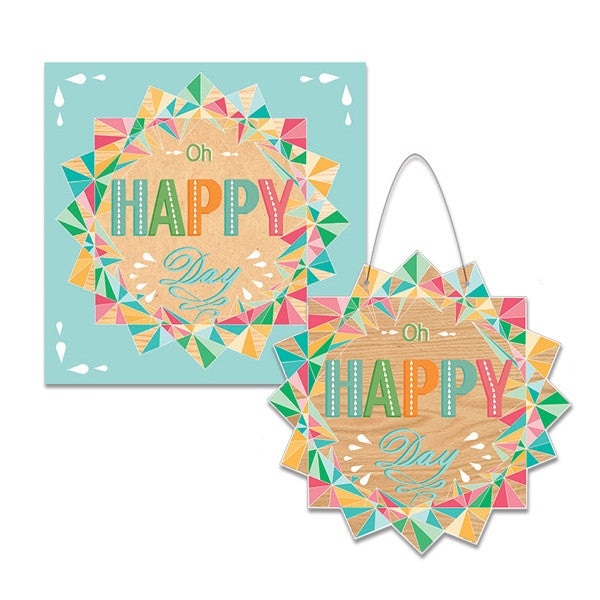 Oh Happy Day Keepsake Card