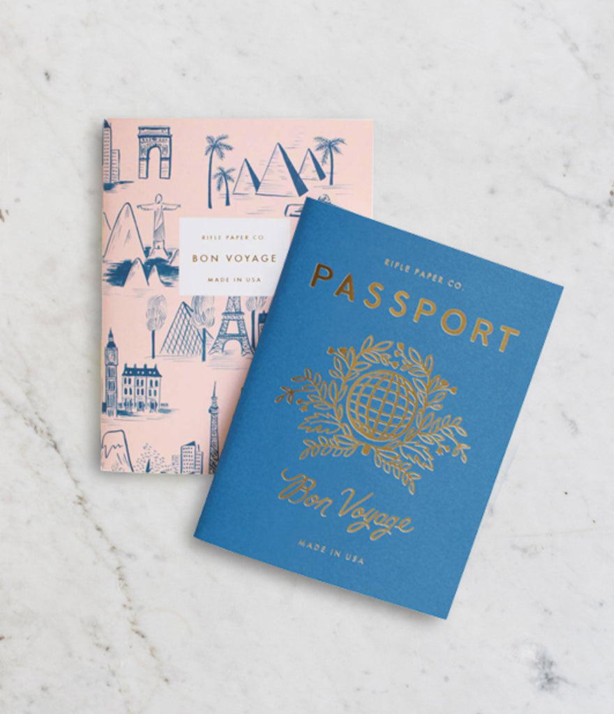 Rifle Paper Co Notebooks Pocket - Passport
